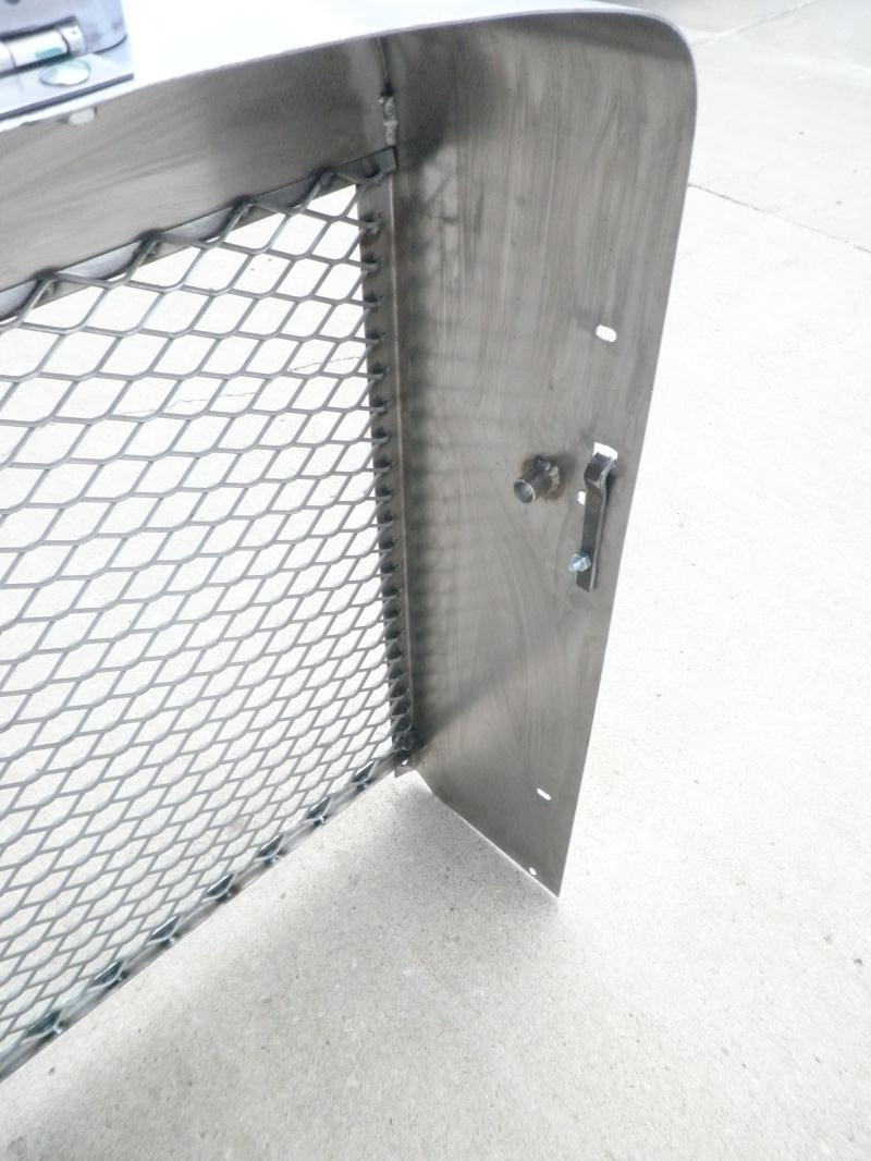 Grills Lincoln Sa 200 Gas Tank With Custom Texas Insert Blackface Grill Inside Detail
